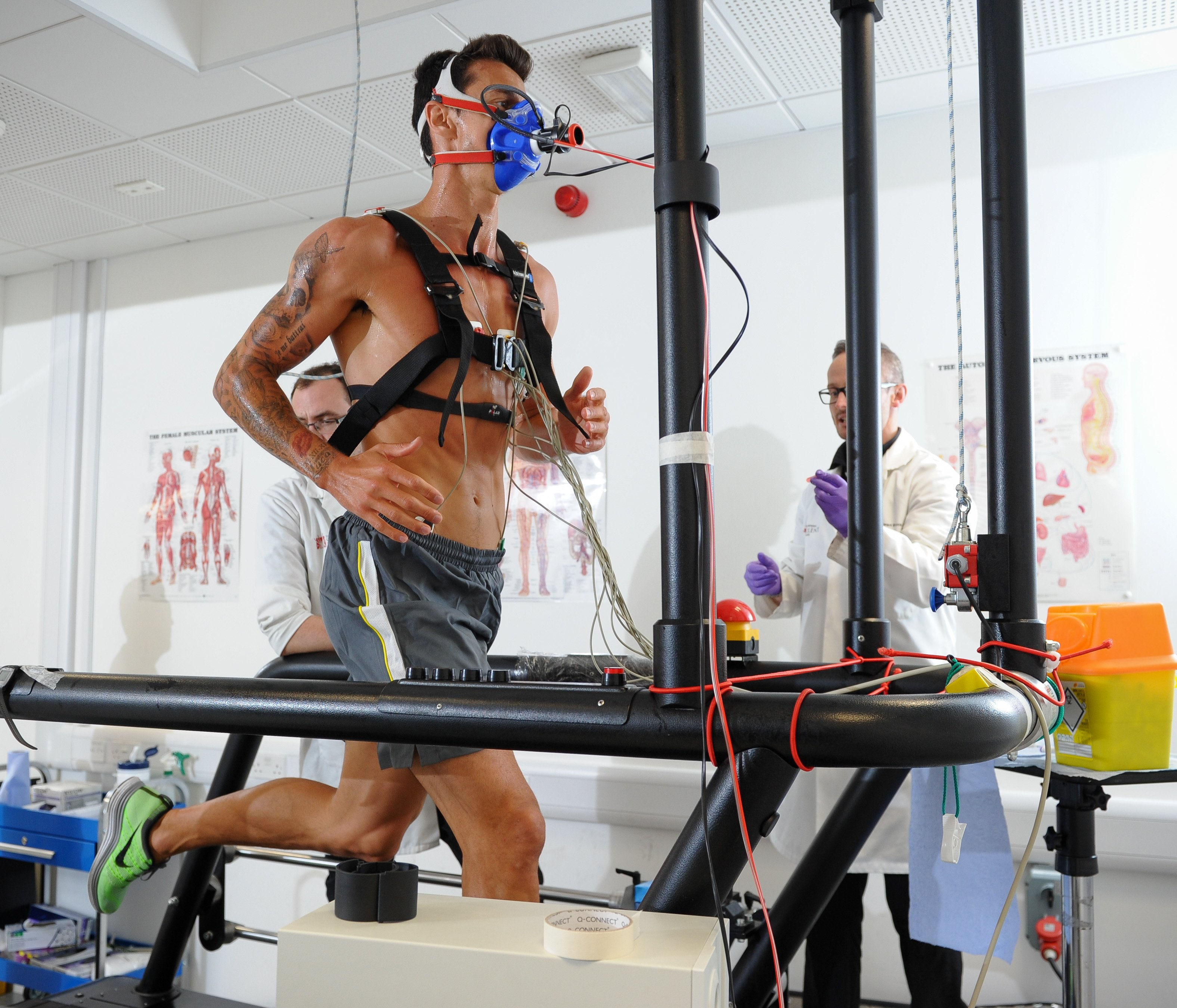 Testing a runners VO2 Max