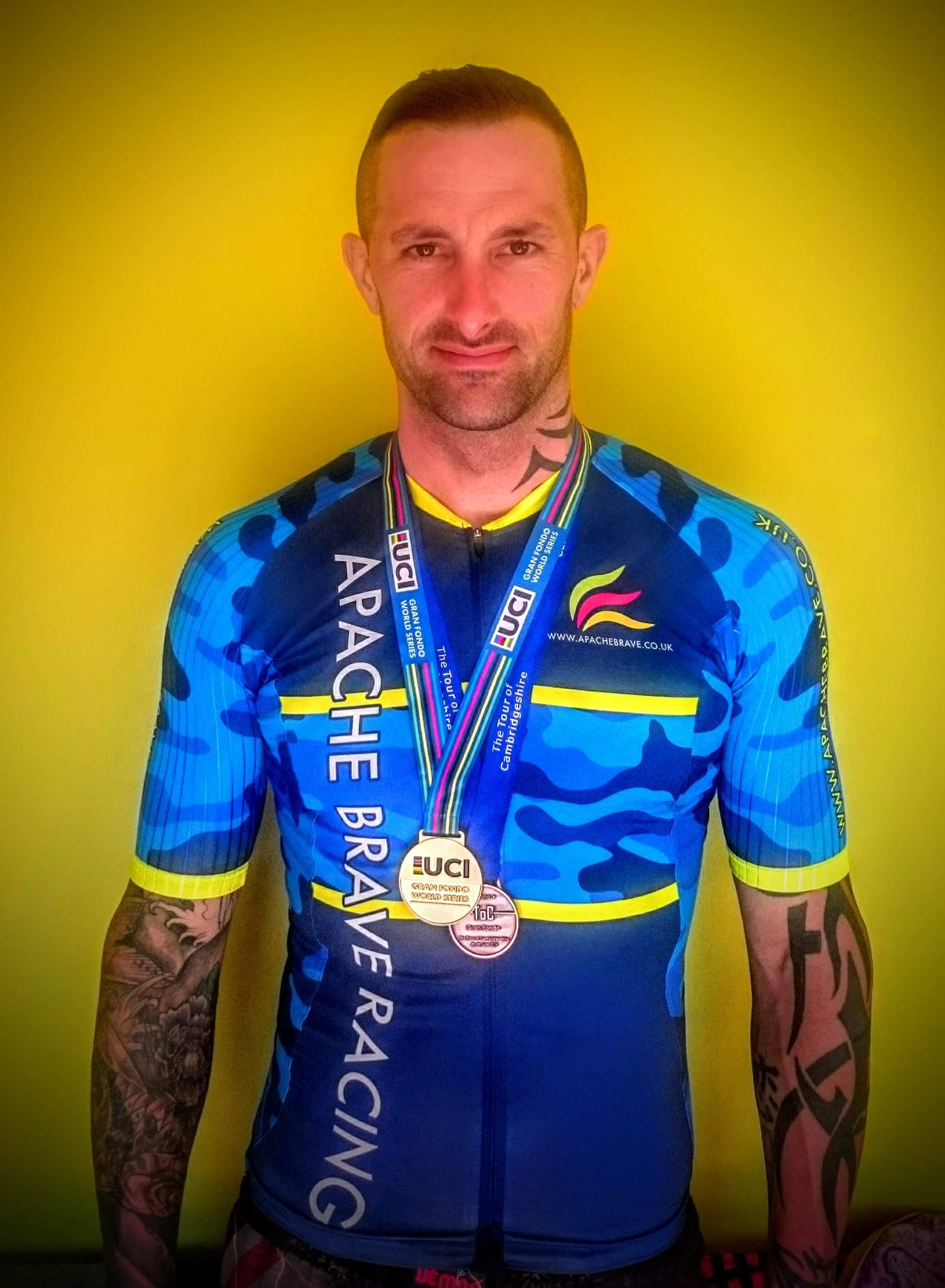 Steve Ingram Cyclist