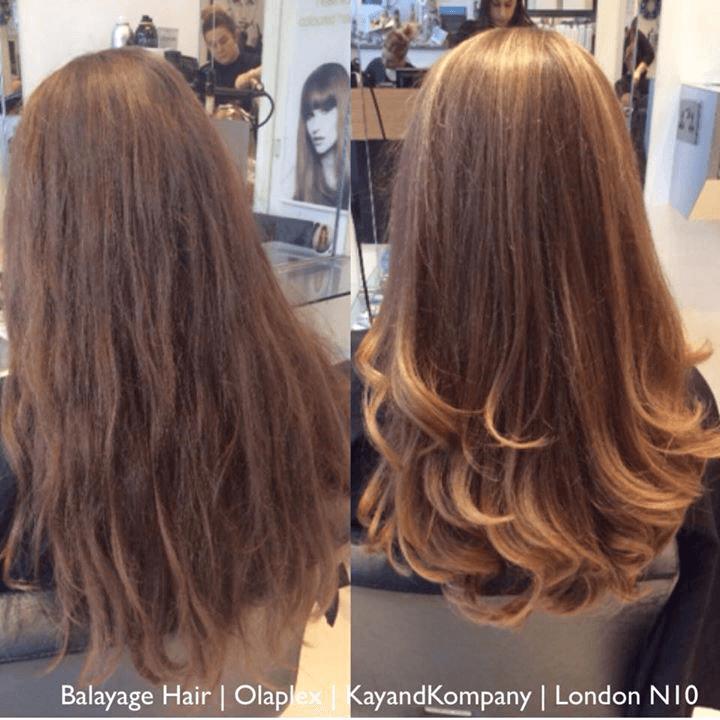 Hair straightning