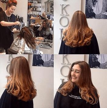 hair experts at work