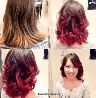 hair colouring by the specialists