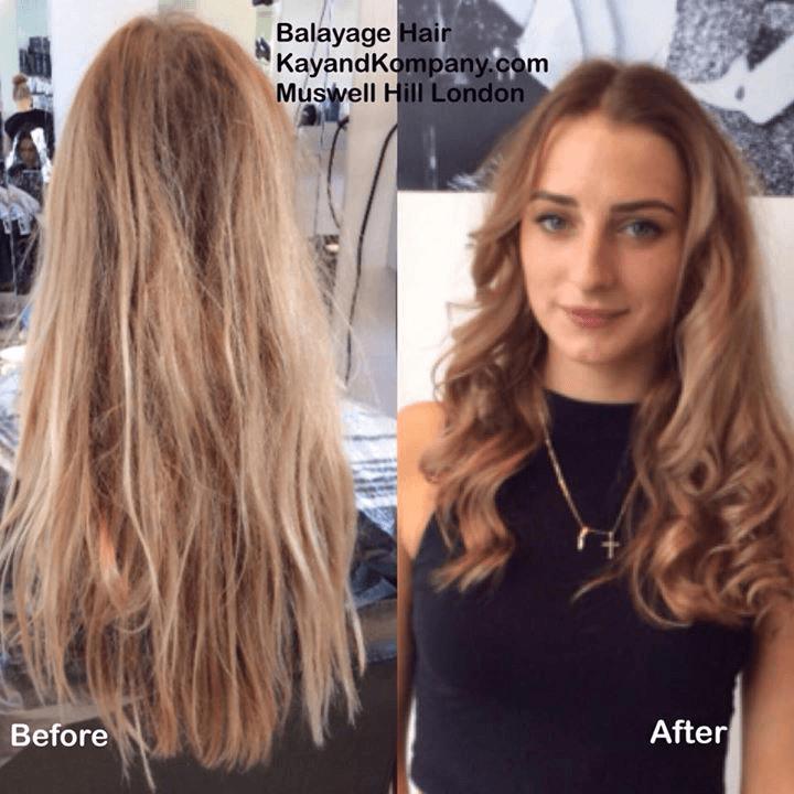 Hair transformation work