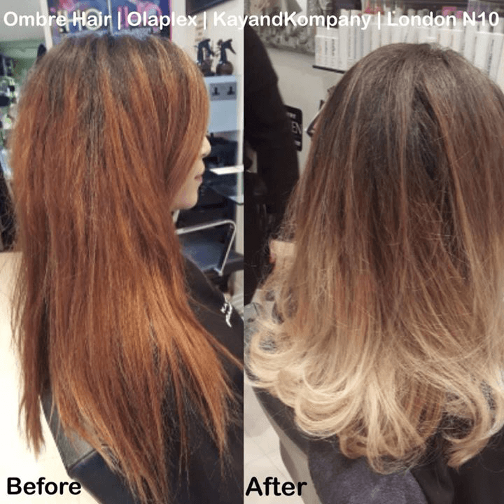 balayage ombre hair long hair transformations kayandkompany salon hairdressers muswellhill london n10