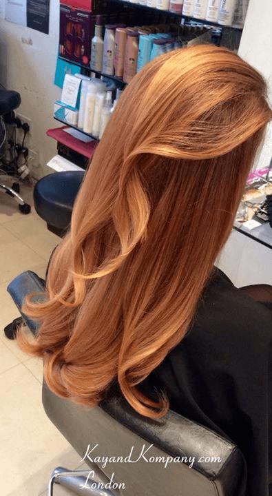 Girls hair designing
