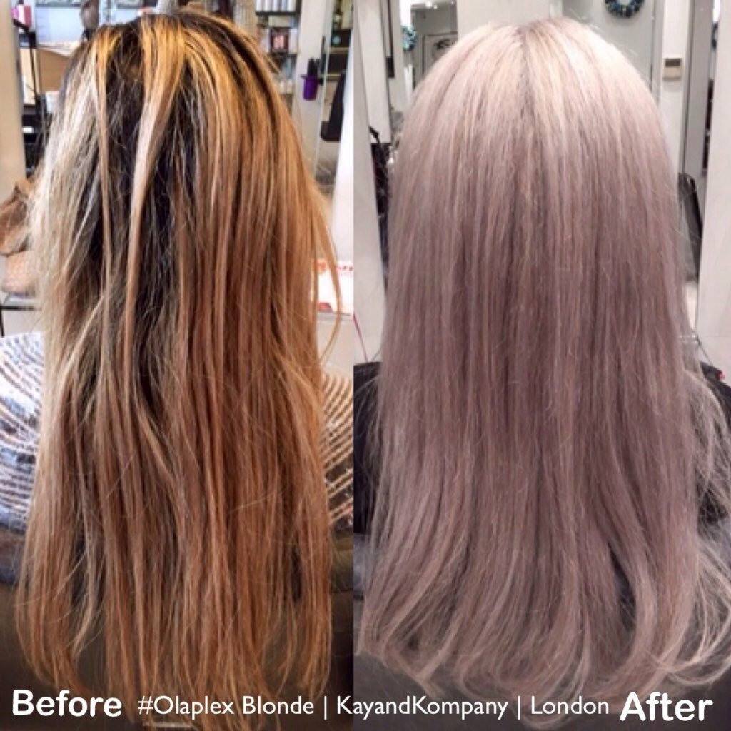 long hair, granny hair, grey hair,olaplex salons kayandkompany, hairdressers in London, Muswell hill, North London, n10, barnet, haringey, n8, n22, n12, n2, n3, olaplex