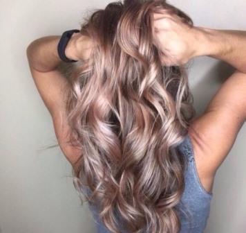 metallic haircolours balayage hair long hair transformations kayandkompany salon hairdressers muswellhill london n10