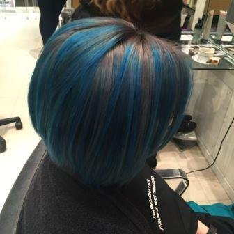 blue haircolour experts ombre hair long hair transformations kayandkompany salon hairdressers muswellhill london n10