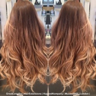 hairextensions greatlengths by kayandkompany hairdressers london muswellhill n10 hair extension salon