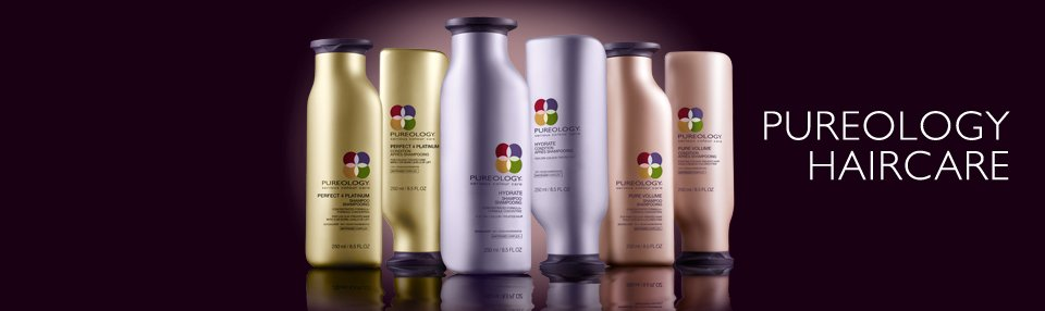 Pureology hair shampoos, hair conditioners, hair treatments, sulphate free and 100% Vegan, kayandkompany salon, london n10, muswellhill, northlondon