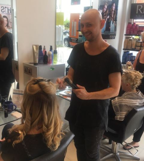 >hair salons in London muswell hill N10 | kayandkompany | hairdressers organic | meet our  kay and kompany salon team jozsef