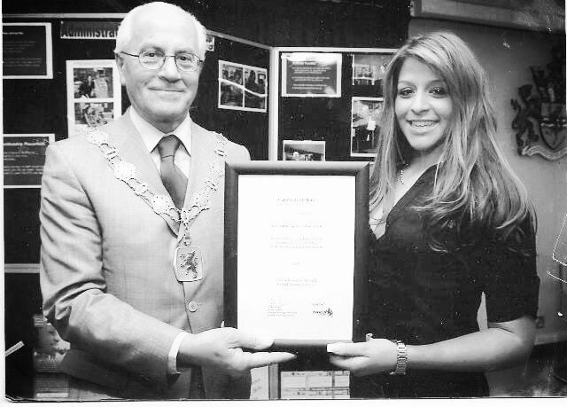 kayandkompany hairdressers salon muswellhill n10 with mayor of enfield