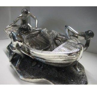 Scultura in argento
