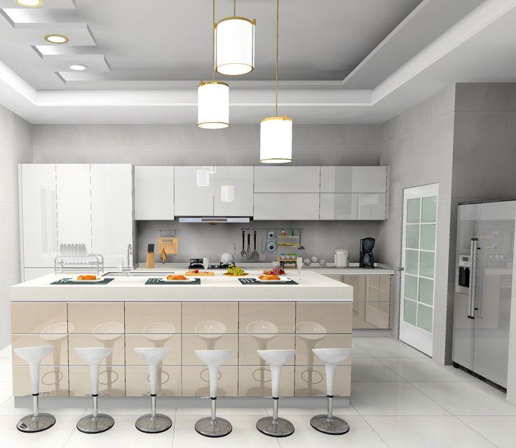 5 Pilihan Material Kabinet Dapur Yang Berbaloi Dan Produktif