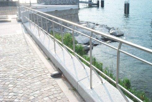 Lakeside railings