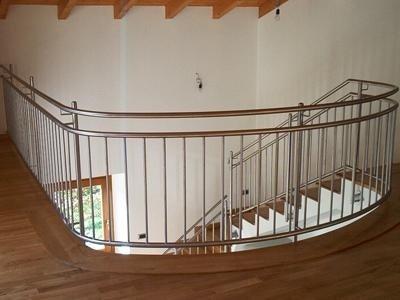 mezzanine with railing