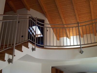 curved mezzanine railings