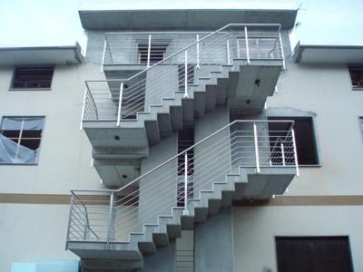 multiple floor railings