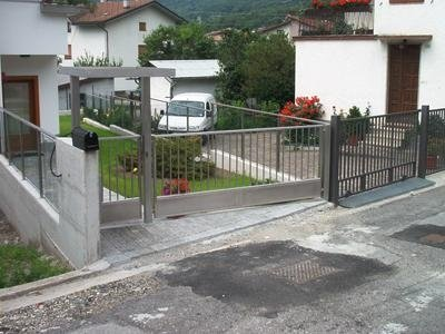 vehicle and pedestrian gate