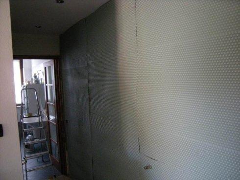 parete isolamento acustico