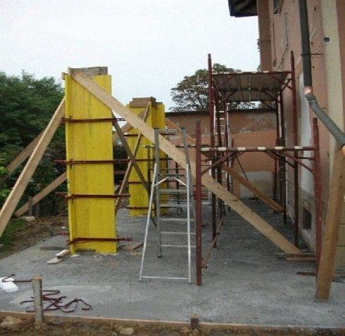 armatura colonne cemento armato