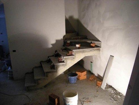 rivestimento marmo scalinata