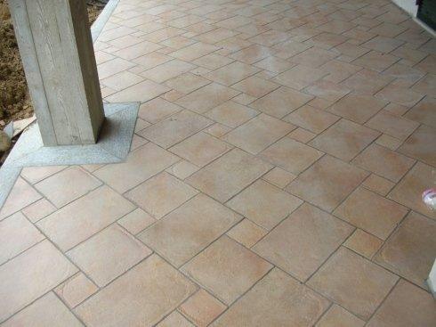 posa in diagonale pavimentazione 100x15