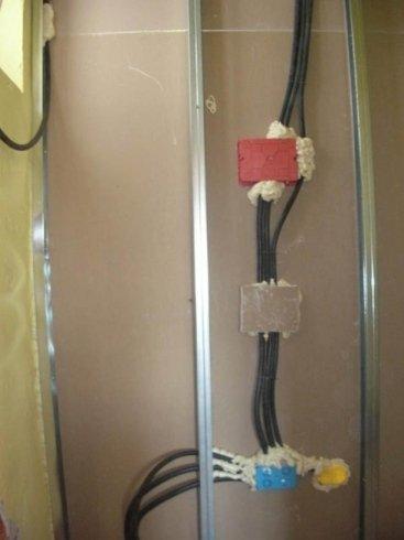 impianti elettrici cartongesso