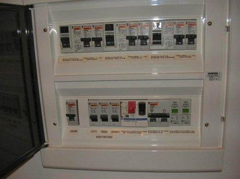 quadro elettrico generale - centralino