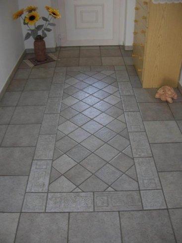 particolare mosaici e corridoi