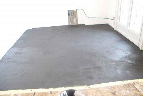 pavimentazione in resina interna