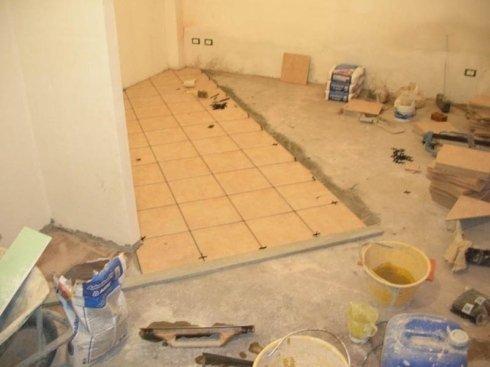 posa pavimentazioni in diagonale