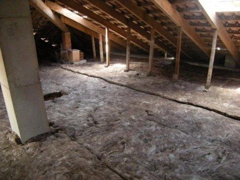isolamento termico in lana di vetro ecologica