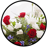 fiori allestimento funebre