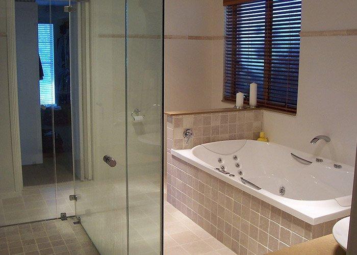 newly modeled bathroom