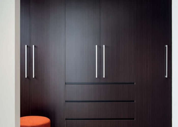 dark brown wardrobe doors