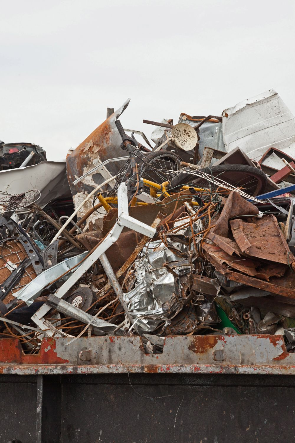One of our scrap metal recycling containers in Whitewater Twp-Hamilton County, OH