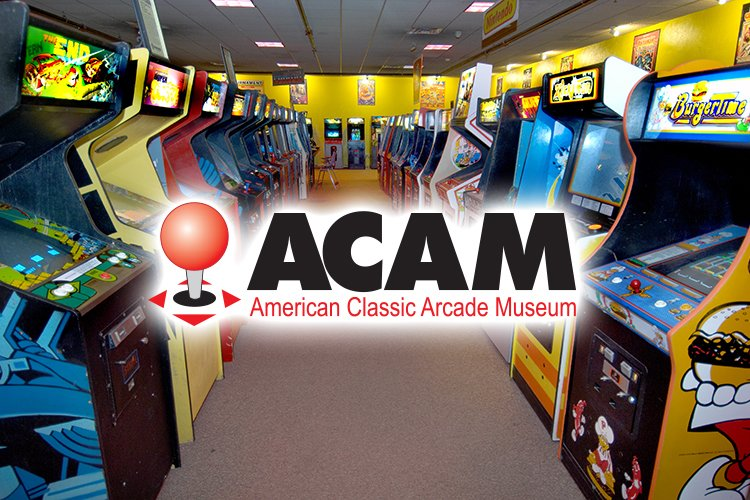 Arcade Games at the American Classic Arcade Museum in New Hampshire