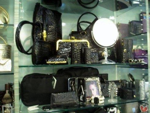 accessori pochette pelletteria