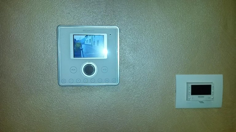 videocitofono con controllo accessi
