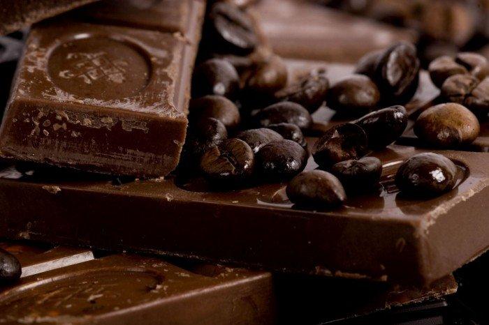 Tavolette di cioccolato di diversi gusti