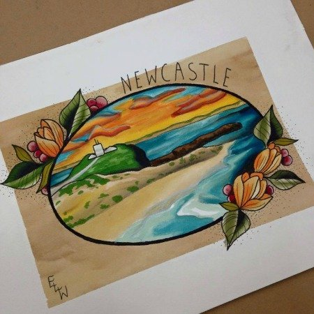 newcastle drawing