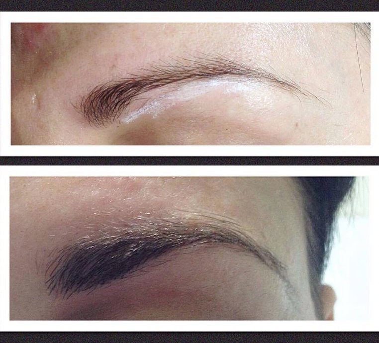 before and after eyebrows 2