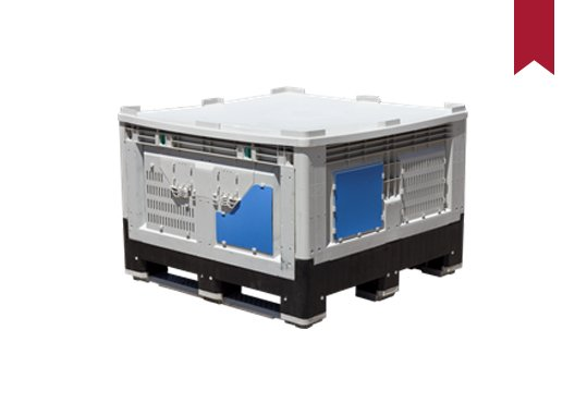 Collapsible IBC