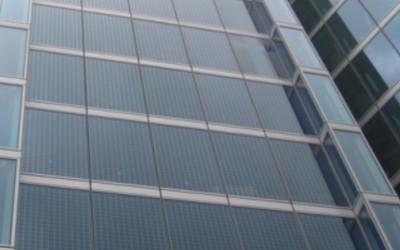 Fotovoltaico per facciata continua