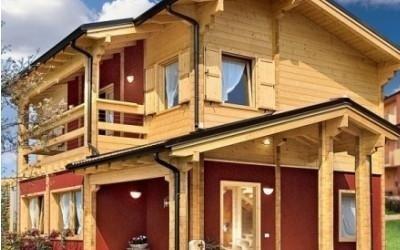 Casa su due piani prefabbricata