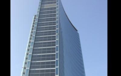 Edifici con pannelli solari