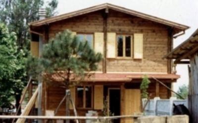 Casa prefabbricata in legno torino
