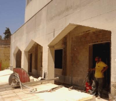 perforazione del calcestruzzo