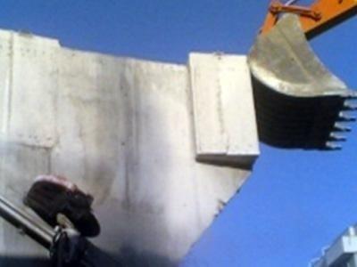 demolizioni di strutture in calcestruzzo