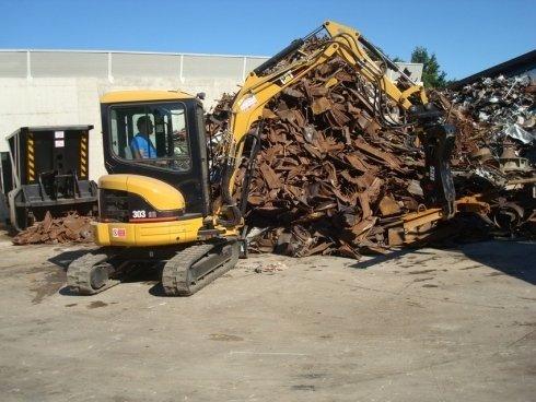 raccolta e trattamento di rifiuti ferrosi